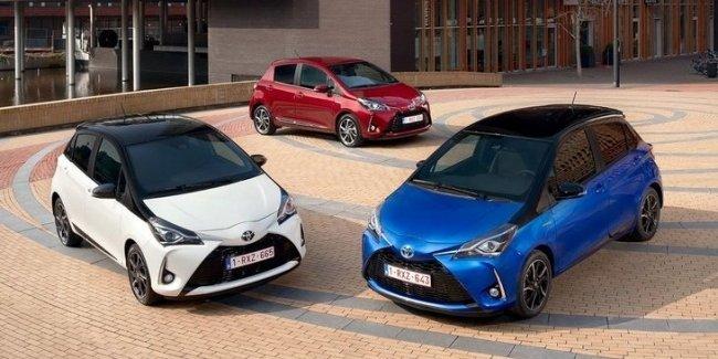 Гибридные модели составляют почти половину проданных в Европе Toyota