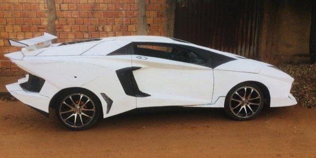 Бразилец превратил хэтчбек Fiat в Lamborghini Aventador