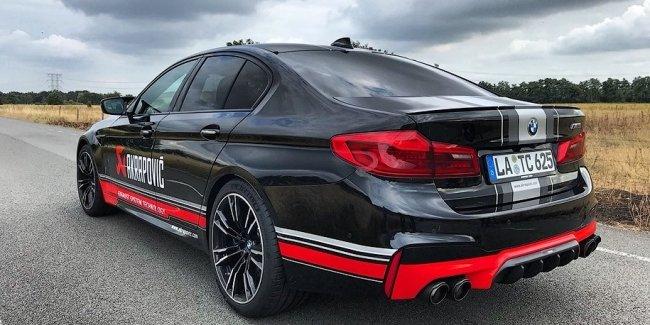 Akrapovic сделал титановый выпуск для BMW M5: только послушайте!