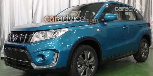В сеть слили фото обновленного Suzuki Vitara