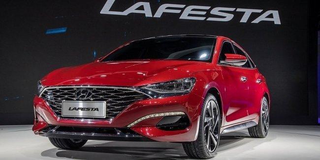 Серийный седан Hyundai Lafesta: два варианта декора и два турбомотора