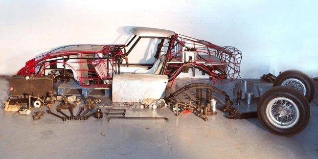 Британцы нашли заброшенный контейнер с деталями для сборки Ferrari 250 GTO