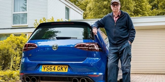 Британский пенсионер «прокачал» свой VW Golf до 600 сил