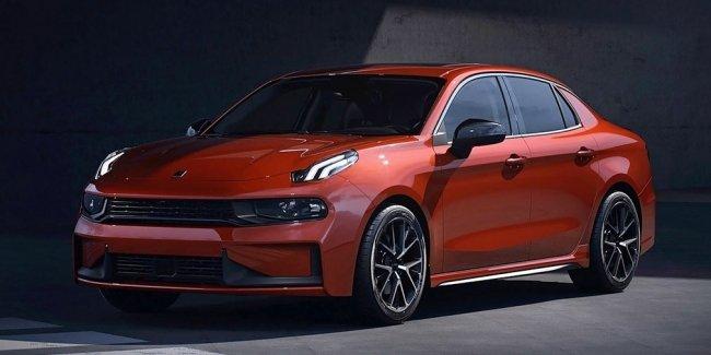 Китайская Lynk Co представила седан на базе Volvo