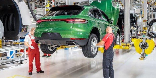 На заводе Porsche в Лейпциге начали собирать обновленные «Маканы»
