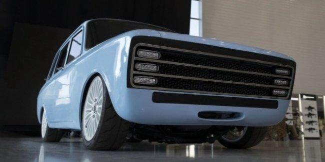 «Калашников» построил электрический суперкар в кузове ретро-лифтбека ИЖ