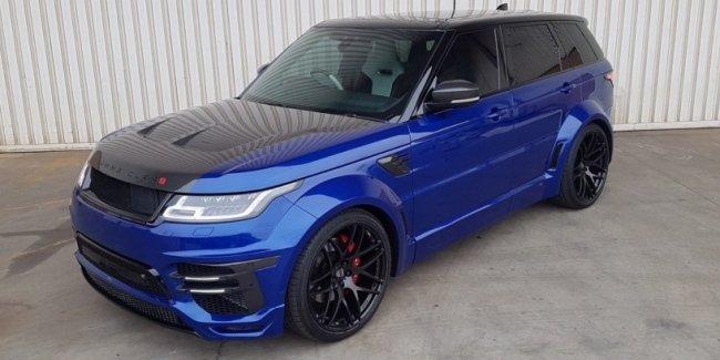 Range Rover Sport SVR «приоделся» в Lumma