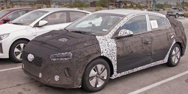Семейство Hyundai Ioniq обновит внешность и начинку