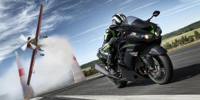 Мотоциклы Kawasaki 2019 будут доступны в новых цветовых схемах