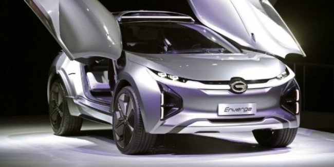В Париже дебютирует «самая секретная» модель GAC A10