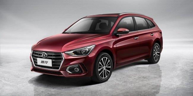 Hyundai Celesta RV: серийный Солярис универсал привезли в Чэнду