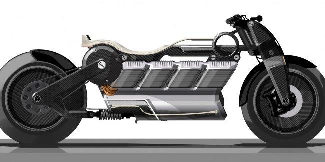 Curtiss Motorcycles создаст первый в мире мотоцикл с электромотором V8