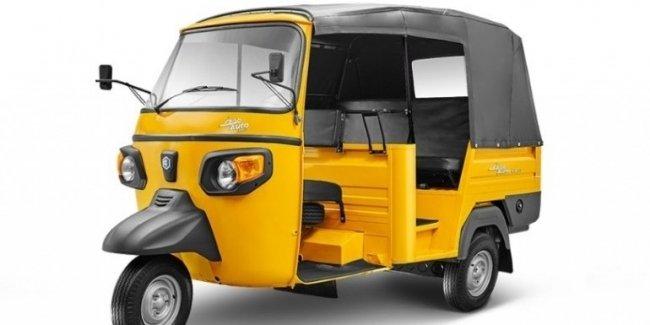 В Индии представили Piaggio Ape, работающий на альтернативном топливе