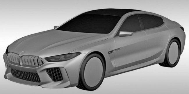 Появились первые изображения BMW M8 Gran Coupe