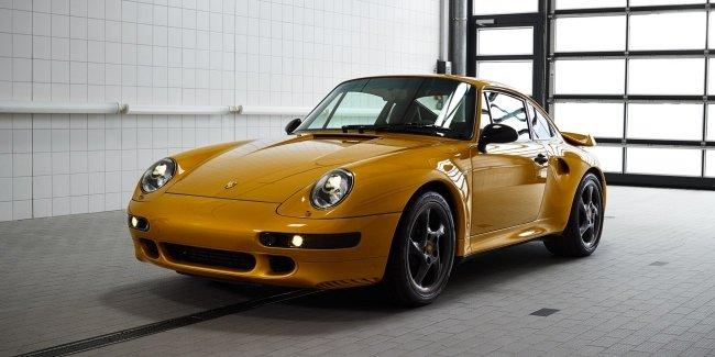 Porsche выпустил суперкар с воздушным охлаждением