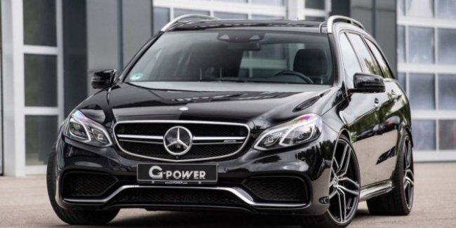 800 лошадей для «сарая»: в G-Power прокачали Mercedes-AMG E 63 S