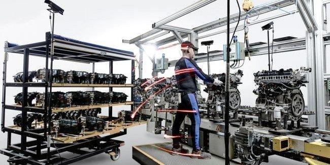 Ford снизит физическую нагрузку рабочих с помощью 3D-технологии motion capture