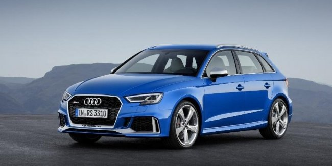Производство Audi RS3 для Европы временно прекращено