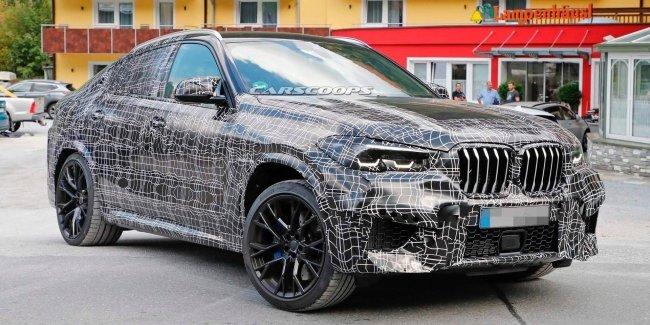 Новый BMW X6 M появился на шпионских фотографиях