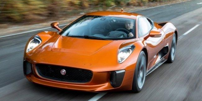 Jaguar строит среднемоторный суперкар