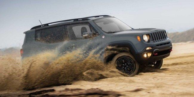 Долгожданный Jeep Renegade уже в наличии в Автоцентре на Столичном!