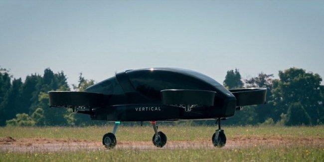 Британцы испытали прототип электрического аэротакси