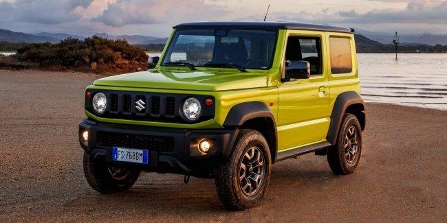 Стали известны цены на новый Suzuki Jimny в Европе