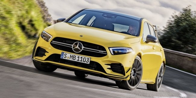 Немцы показали самый дешевый Mercedes-AMG в истории