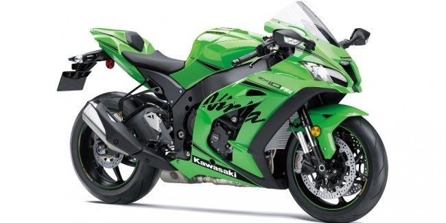 Спортивные мотоциклы Kawasaki Ninja ZX10RR 2019 выпустят ограниченным тиражом