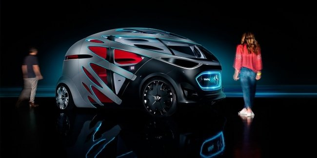 Mercedes представил трансформер-беспилотник