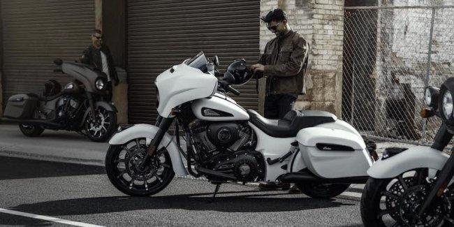 Вслед за белой «тёмной лошадкой» Indian Motorcycles представил новую линейку мотоциклов Chieftain