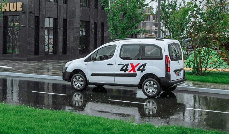 Тест-драйв уникального коммерческого внедорожника Peugeot Partner Dangel 4×4