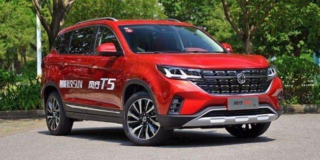 Начались продажи Dongfeng T5 с дизайном в стиле нового VW Touareg