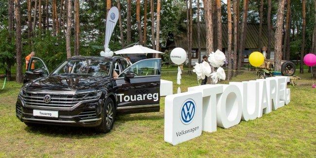 Первый в Украине тест-драйв Нового Touareg от киевских автоцентров «Атлант-М»