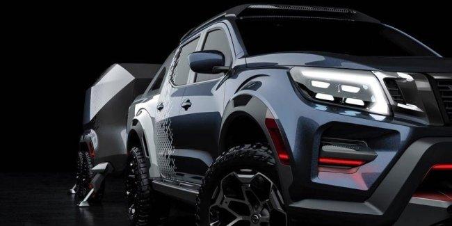 Nissan превратил пикап Navara в экстремальный внедорожник