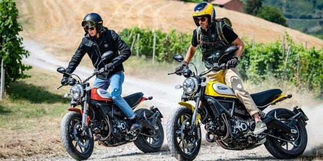 Новый мотоцикл Ducati Scrambler получил работающий в повороте ABS