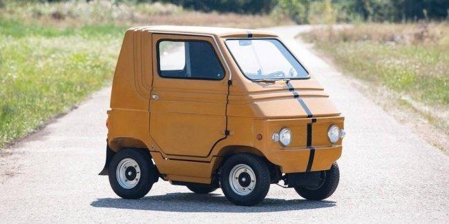 Самый дешевый (и маленький) автомобиль Zagato пустят с молотка