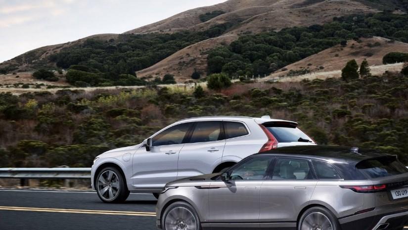 Сравнительный тест нового Volvo XC60 vs Range Rover Velar