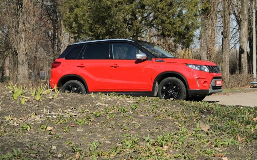 Первый украинский тест Suzuki Vitara: японский венгр по цене китайца