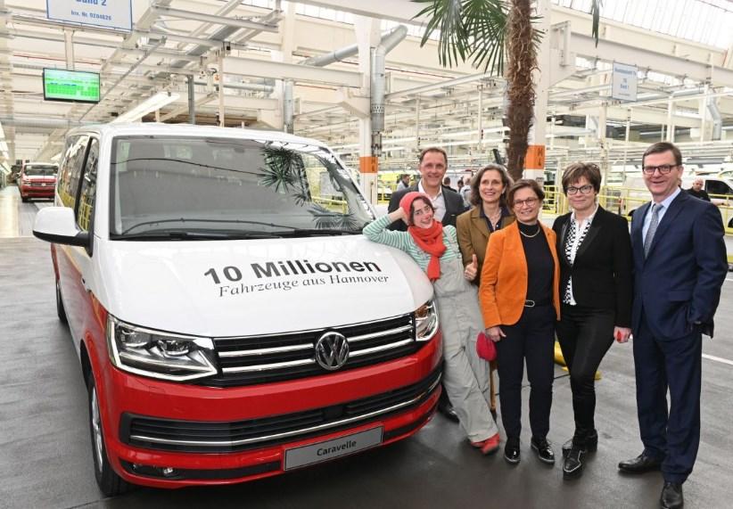 Volkswagen Transporter на 10 миллионов