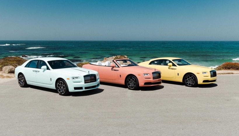 В Пеббл-Бич дебютировала коллекция пастельных Rolls-Royce