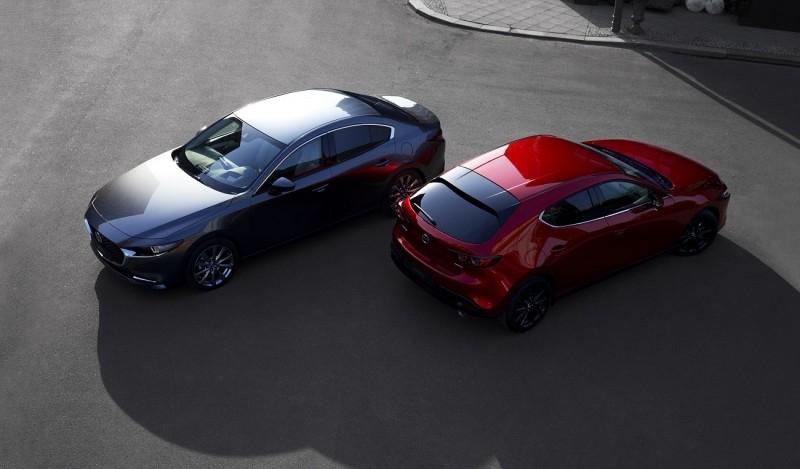 Mazda3 2019 приехала в Украину: цены