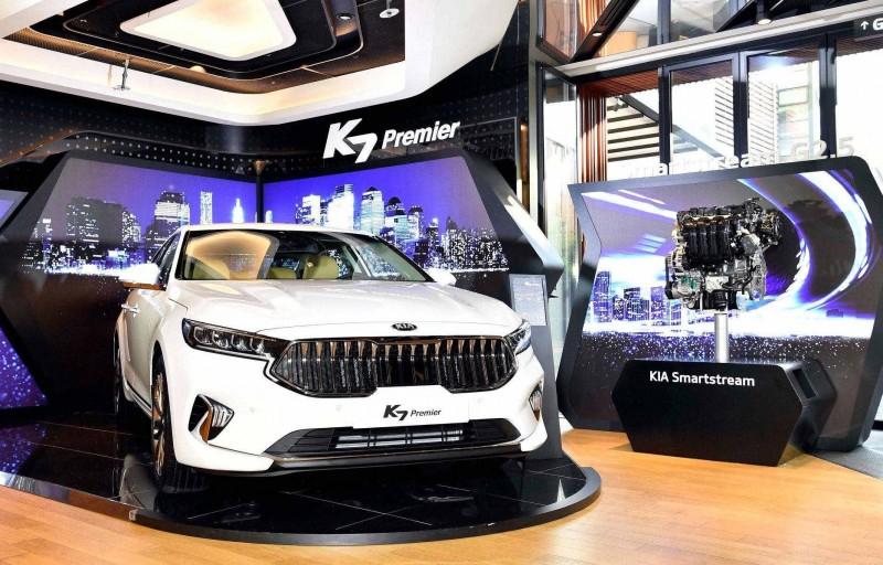 Обновленную Kia Cadenza представили в Корее как  K7 Premier