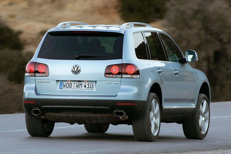 Чем привлекает Volkswagen Touareg первого поколения