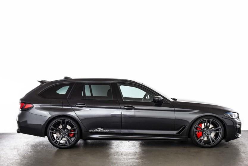 Обновленный BMW 5 серии подвергся доработке
