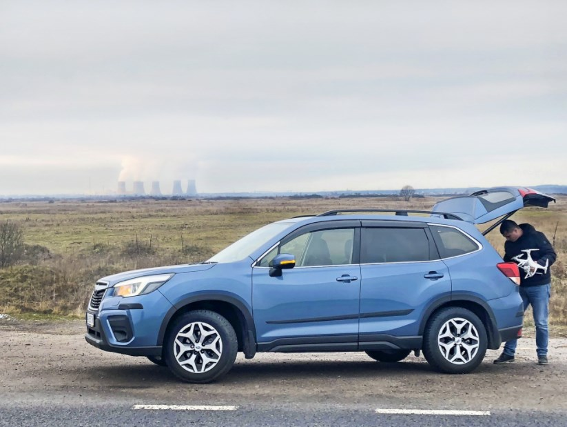 Тест-драйв Subaru Forester: третий глаз