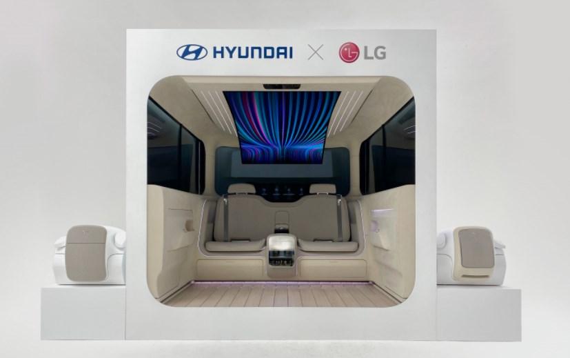 Компания Hyundai показала салон будущих электрокаров Ioniq
